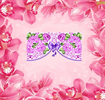 WRAPS FRENCH BLUMEN - 52